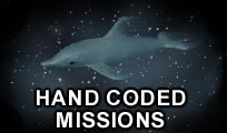Hand Coded Missions - Dolphins In Space